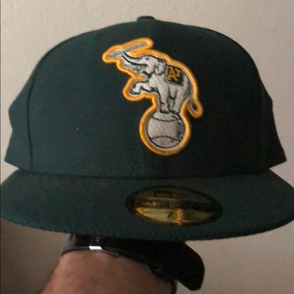 178ee3d7 New Era Accessories | Fitted Oakland Athletics Baseball Cap | Poshmark